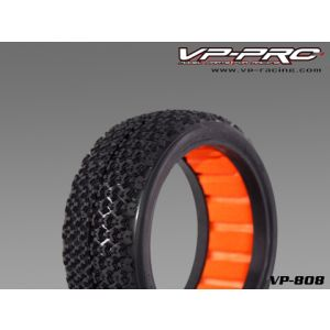 VP-PRO GRIPZ EVO 1/8 BUGGY TIRES W/CLOSED CELL INSERTS (2)