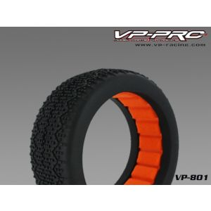 VP-PRO IMPULSE 1/8 BUGGY TIRES W/CLOSED CELL INSERTS (2)