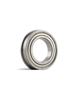 BOCA BEARINGS - Stainless Steel, Ceramic hybrid bearing, ABEC #3 (0.1250 X 0.3750 X 0.1562 INCHES-1/8x3/8x5/32)