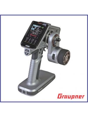 Graupner - X-8E 4 Channel 2.4GHz HoTT Color TFT Surface Radio