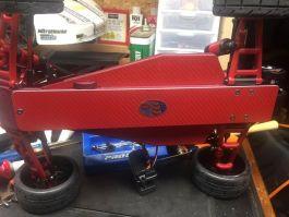 Lipo Lock Traxxas Rustler 5 oz speed run Chassis skid plate